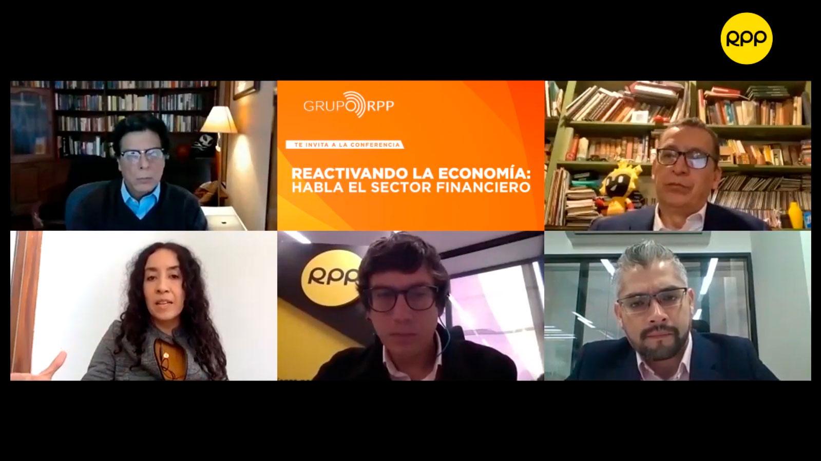 """Webinar RPP: """"Reactivando la economía: habla el sector financiero"""""""